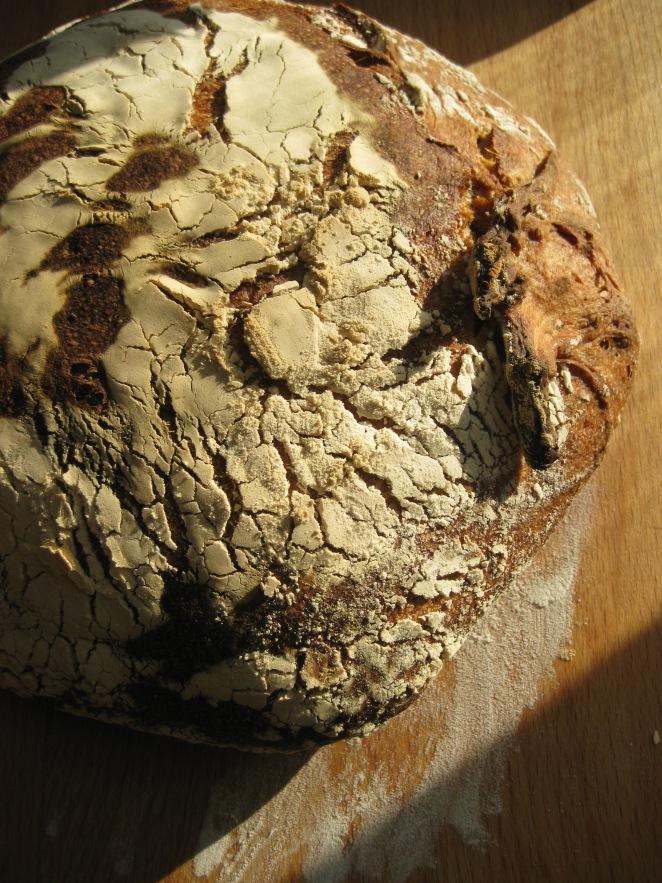 Pistachio Raisin Sourdough Bread from zestysouthindiankitchen.com