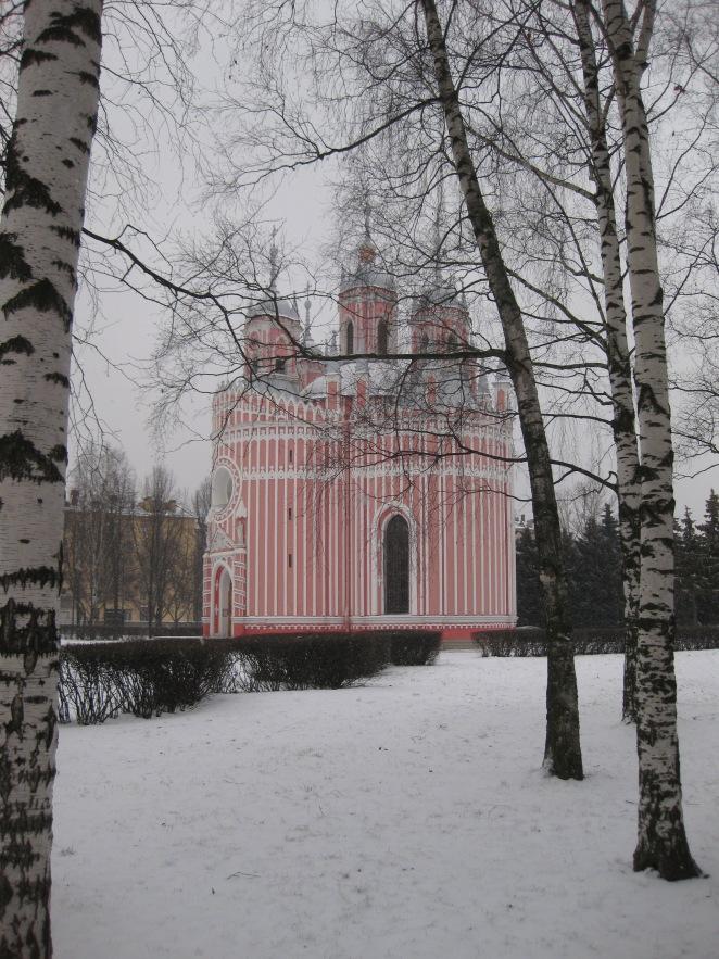 Chesme Church in St Petersburg