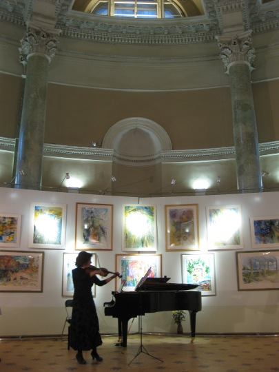 Concert in Rotonda, St Petersburg