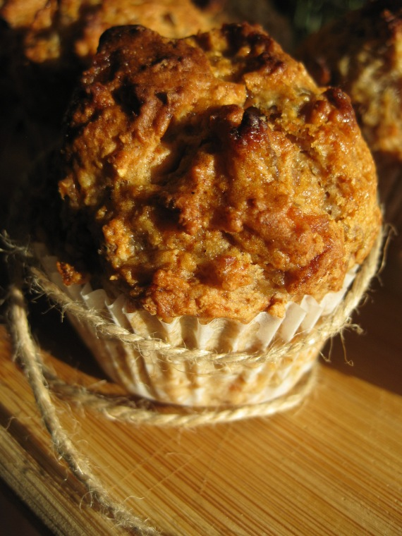 Country Applesauce Muffins from www.williams-sonoma.com