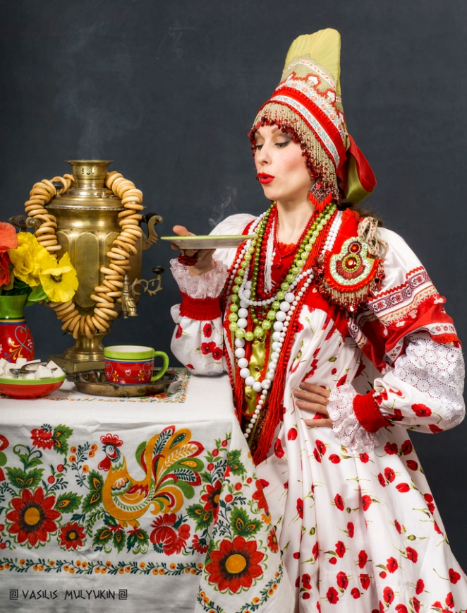 Samovar and Sushki