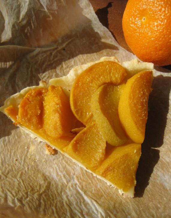 Peach Pastry Pie from eda.ru