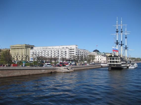 Petrovskaya Embankment, St Petersburg