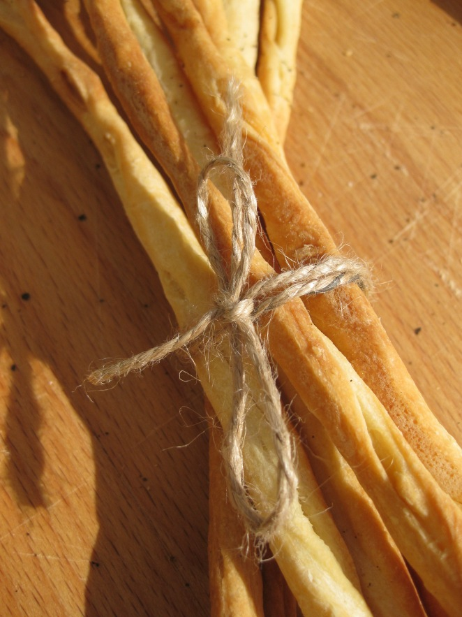 Grissini (Thin Bread Sticks) from www.wildyeastblog.com