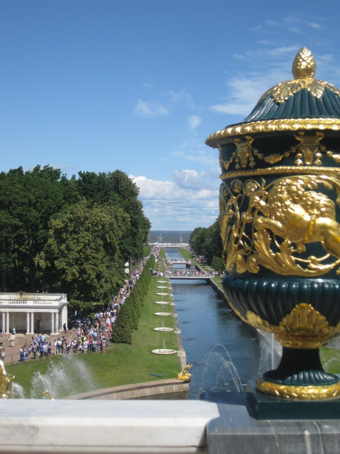 Peterhof, St Petersburg