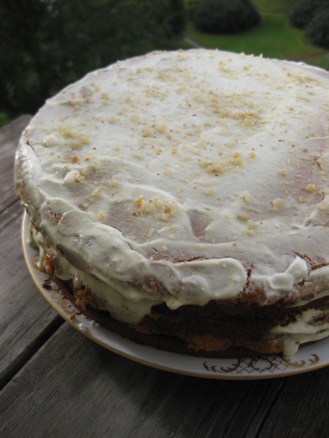 Medovik or Russian Layered Honey Cake