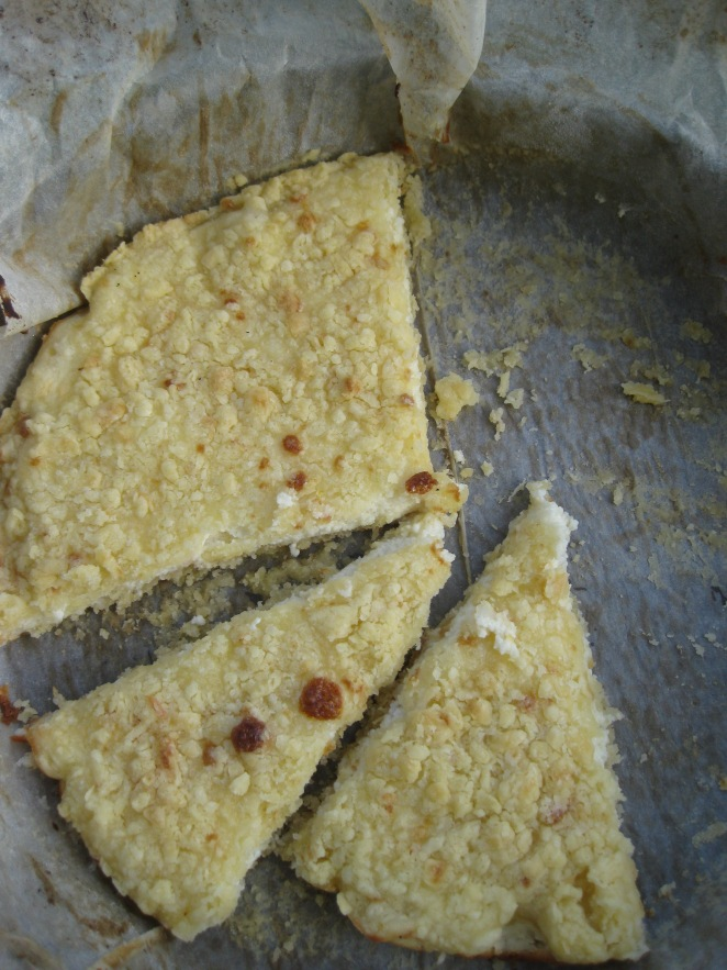 """Terty"" Tvorozhnik or 'Grated' Cheese Pie"