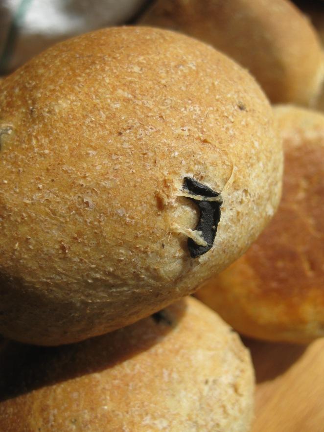 Eliopsomo Khoriatiko or Village Olive Bread from bettyscuisine.blogspot.com