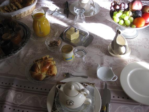 Petit-dejeuner, Comps