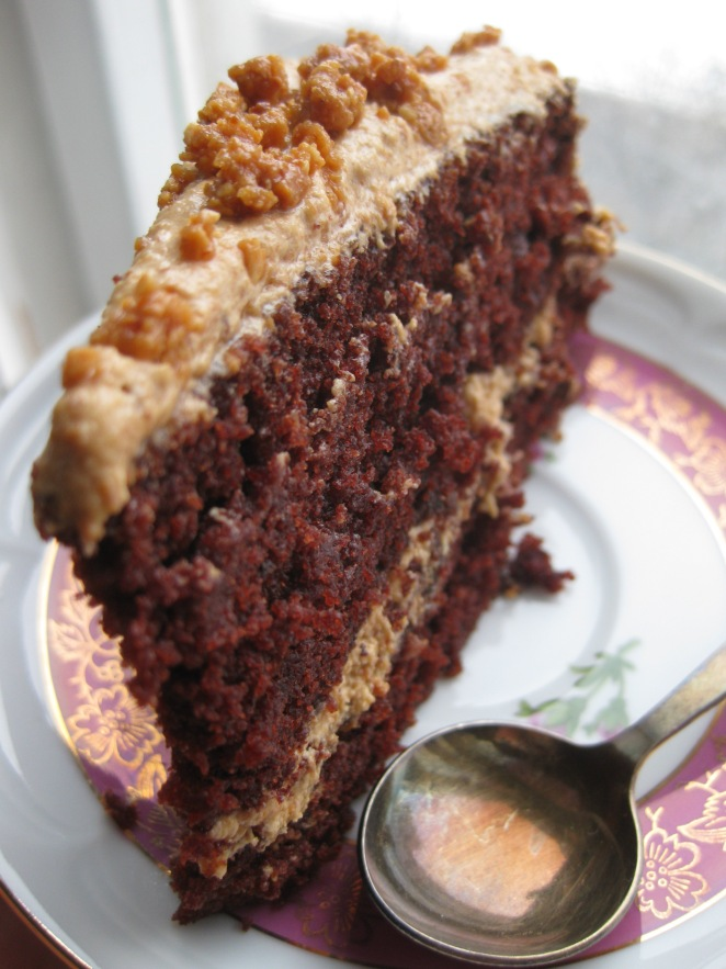 Reese's Dark Chocolate Cake