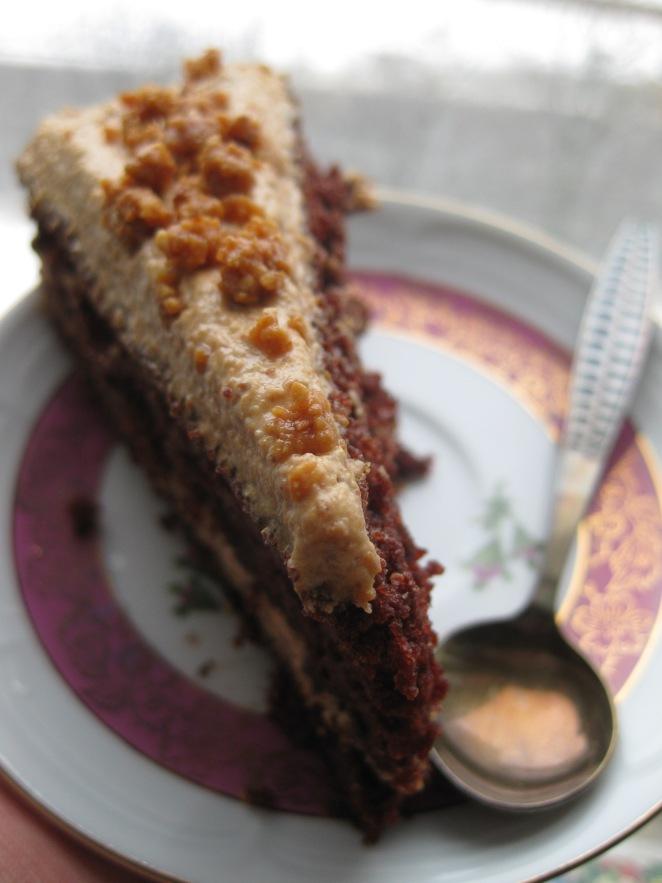 Reese's Dark Chocolate Cake