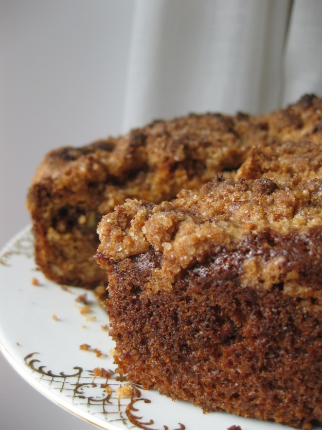 Chestnut Coffee Cake