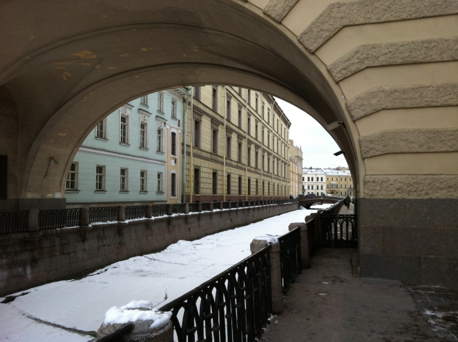 St Petersburg in February