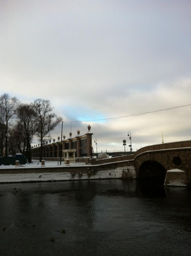 St Petersburg in February