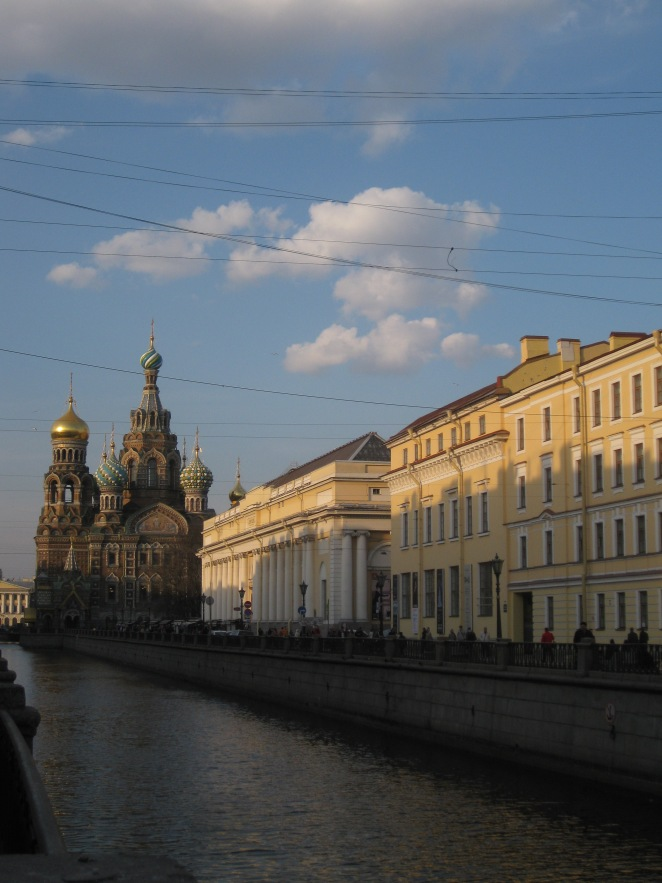 St Petersburg in March