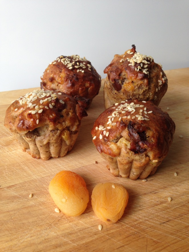 Sugarless Fruit Muffins