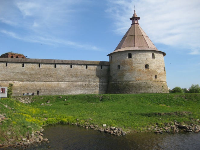 Oreshek Fortress where Neva River Begins