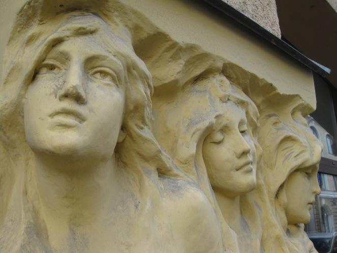 Art Nouveau around Sadovaya Street