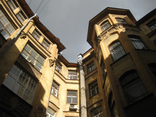 Art Nouveau around Sadovaya Street