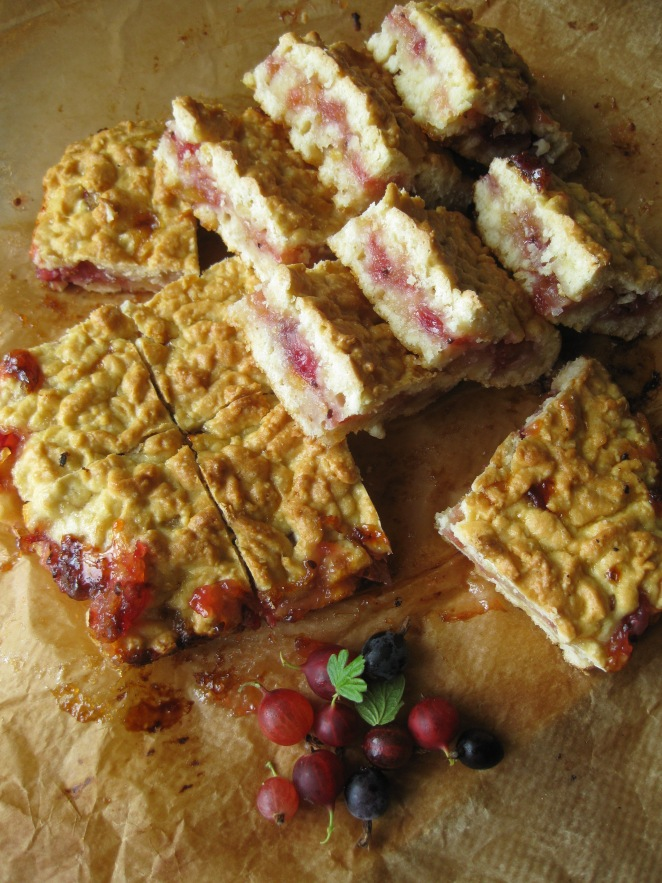 Lemon-Gooseberry Bars
