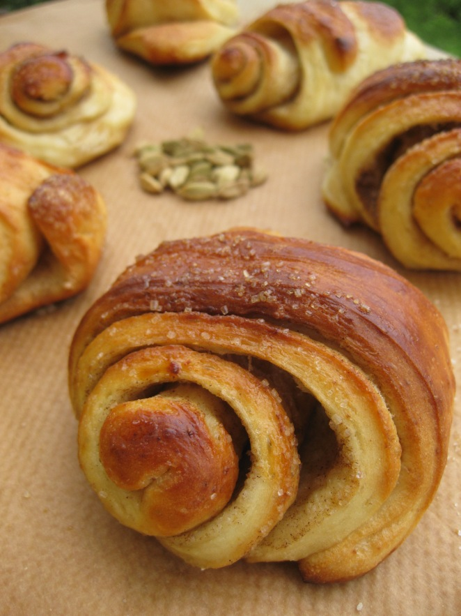 Korvapuustit, Finnish Cinnamon and Cardamom Buns