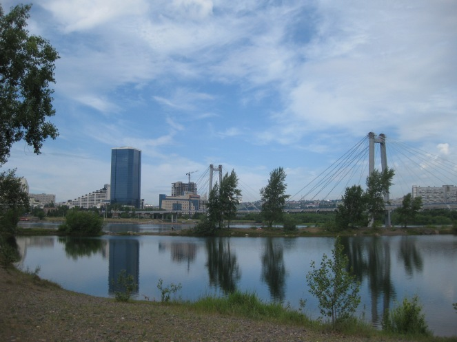Krasnoyarsk and Stolby Park