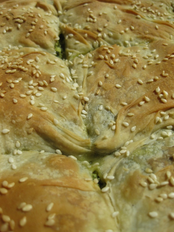 Spinach Pie with Phyllo Pastry
